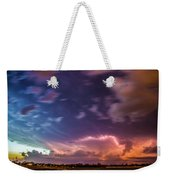 Epic Nebraska Lightning 009 Weekender Tote Bag