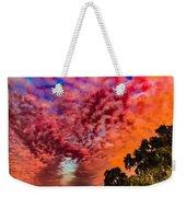 Epic Sunset Weekender Tote Bag