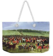 Epsom Races - The Betting Post Weekender Tote Bag