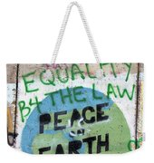 Equality Before The Law Weekender Tote Bag