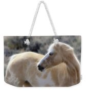 Equine Golden Glow Weekender Tote Bag