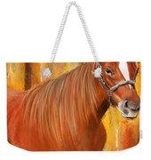 Equine Prestige - Horse Paintings Weekender Tote Bag