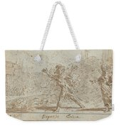 Ergasto And Corisca Weekender Tote Bag