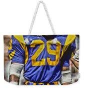 Eric Dickerson Los Angeles Rams Art Weekender Tote Bag