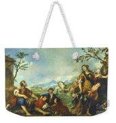 Erminia And The Shepherds Weekender Tote Bag