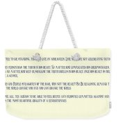 Ernesto Che Guevara Speaking 3 Weekender Tote Bag