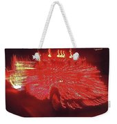 Ernst Haas Homage Fire Truck Electric Lights Xmas Parade Casa Grande Az 2001 Weekender Tote Bag