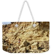 Eroding Graffiti Cliff 2 Weekender Tote Bag