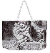 Erotic Nude Drawing One Weekender Tote Bag
