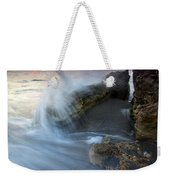 Eruption At Dawn Weekender Tote Bag