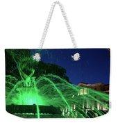 Eruption Of Green Waters, Sofia Weekender Tote Bag