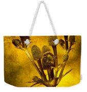 Eryngium Gold Weekender Tote Bag
