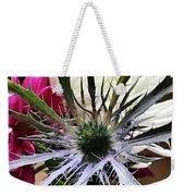 Eryngium Thistle Weekender Tote Bag