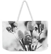 Eryngium #flower #flowers Weekender Tote Bag