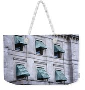 Escambia County Courthouse Windows Weekender Tote Bag