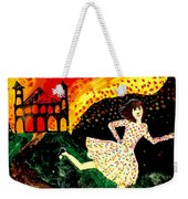 Escape From The Burning House Weekender Tote Bag