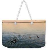 Escaping Geese  Weekender Tote Bag