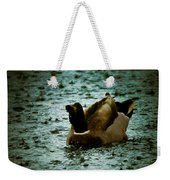 Escaping The Rain Weekender Tote Bag