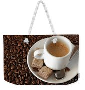 Espresso Coffee Weekender Tote Bag