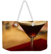 Espresso Expresso Coffee Martini Cocktail Weekender Tote Bag