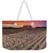 Essex Hay At Sunrise Weekender Tote Bag