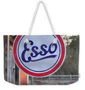 Esso Sign  Weekender Tote Bag