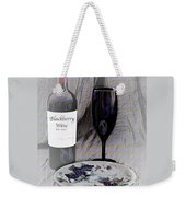 Est 2017 Blackberry Wine Weekender Tote Bag