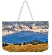 Estes Park From Glen Haven 3 Weekender Tote Bag