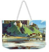 Esztergom, Beautiful City On Danube River, Hungary,  Weekender Tote Bag