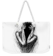 Etching 17 - Midnight Weekender Tote Bag