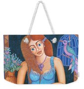 Eternal Eve Weekender Tote Bag