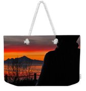 Eternal Sunset Weekender Tote Bag