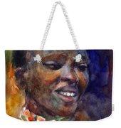 Ethnic Woman Portrait Weekender Tote Bag