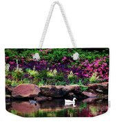 Ethreal Beauty At The Azalea Pond Weekender Tote Bag