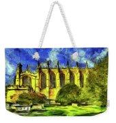 Eton College Chapel Art Weekender Tote Bag