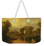Eton College From The River Weekender Tote Bag by Joseph Mallord William Turner