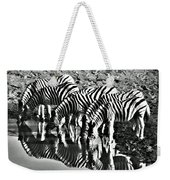 Etosha Pan Reflections Weekender Tote Bag
