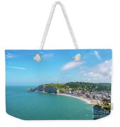 Etretat From Above, France Weekender Tote Bag