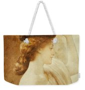 Eucharis  A Girl With A Basket Of Fruit Weekender Tote Bag