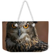Eurasian Eagle Owl Iv Weekender Tote Bag