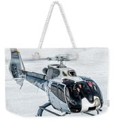 Eurocopter Ec130 With Fantastic Livery Weekender Tote Bag