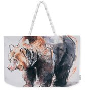 European Brown Bear Weekender Tote Bag