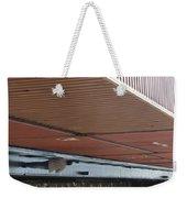 European Container On Barge Weekender Tote Bag