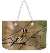 European Goldfinch 5 Weekender Tote Bag