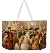 Evacuation Day And Washington's Triumphal Entry In New York City Weekender Tote Bag