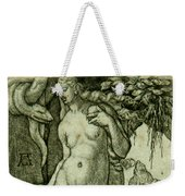 Eve With A Stag Weekender Tote Bag