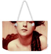 Evelyn On Aquarell Weekender Tote Bag