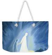 Even In The Darkness Of Out Sufferings Jesus Is Close To Us Weekender Tote Bag