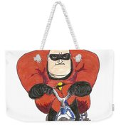 Even Super Heroes Have Bad Days Weekender Tote Bag