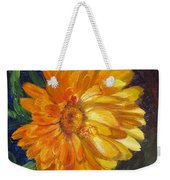Even The Flowers In Autumn Are Golden Weekender Tote Bag